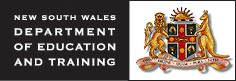 NSW Department of Eduction and Training Logo